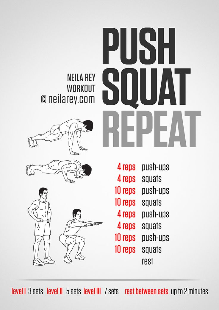 Push Squat Repeat Workout