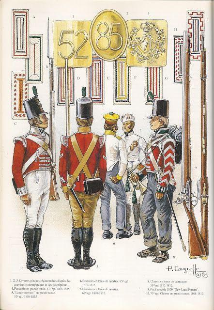 EL EJERCITO BRITANICO 1808-1815