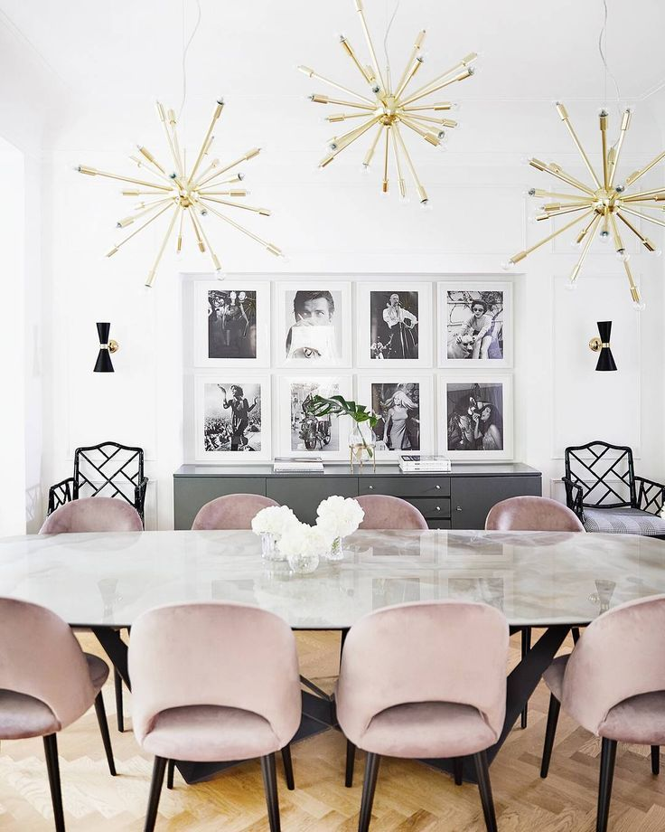 15 Modern Velvet Dining Chairs For The Dining Room Pink Dining