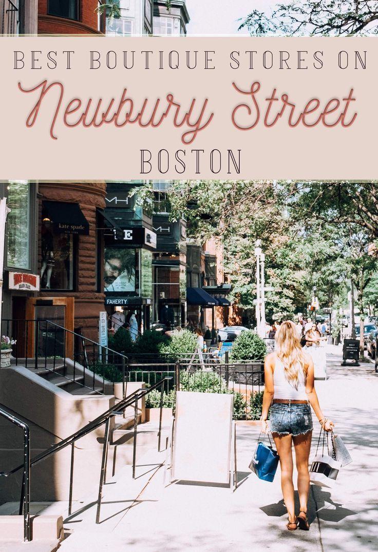 Best Newbury Street Stores For Shopping In Boston Newbury Street