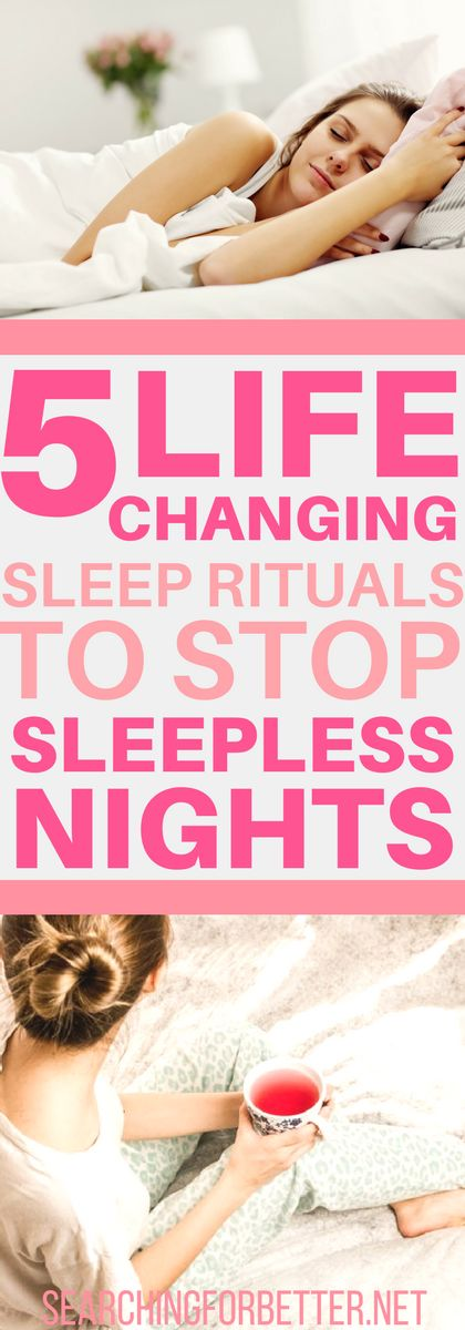 Falling asleep can be hard when your head is full of thoughts about life. These are 5 simple sleep rituals that are great remedies for insomnia so you can finally stop the sleepless nights.