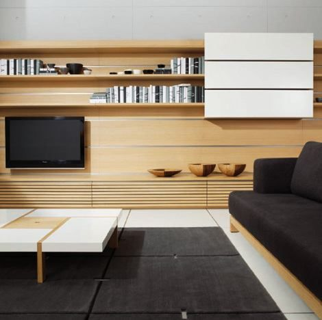 Contemporary Wall Unit with Japanese Style by Peter Maly / Home Trends ..., 470x468 in 72.7KB