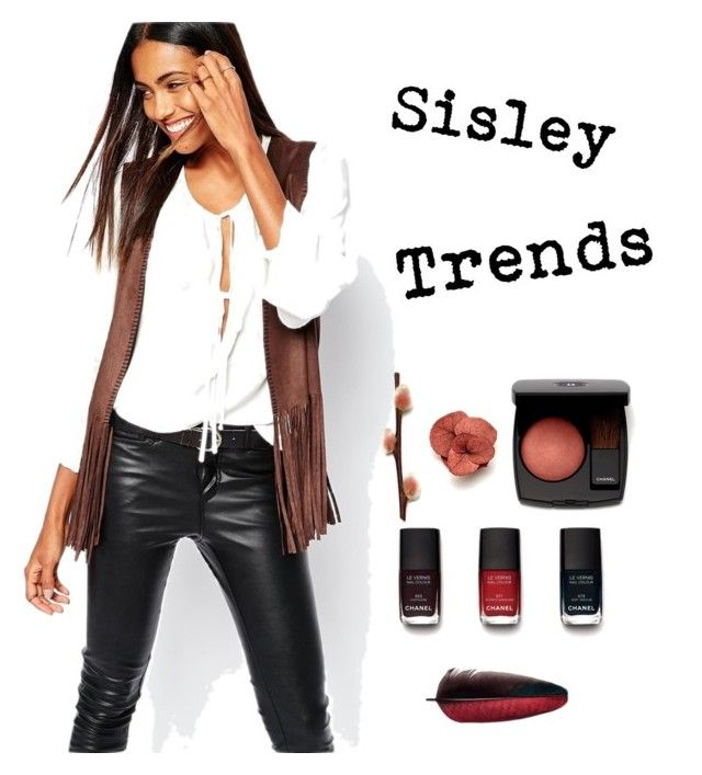 sisley by julimatveeva on Polyvore featuring мода, Sisley and Chanel