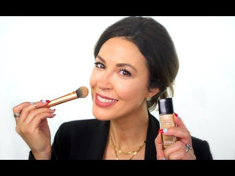 The Best Glowy Foundation Routine with Maybelline Fit Me Dewy + Smooth