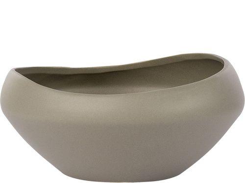 Misa okrągła Sigu brąz ceramika - Naczynia dekoracyjne - Artykuły Dekoracyjne - Meble VOX