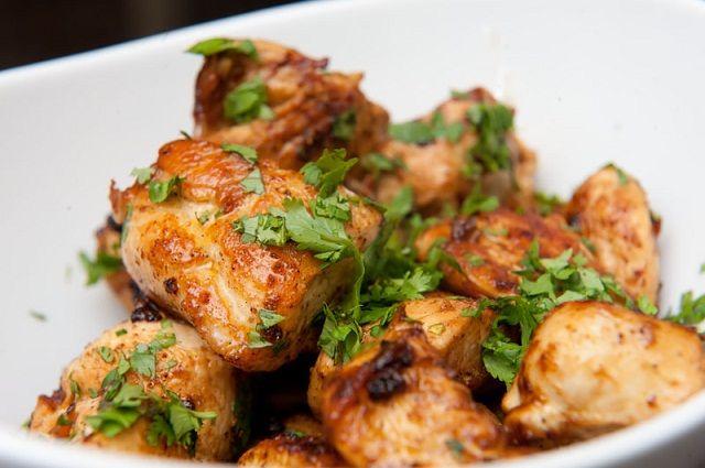 Quick Lime Cilantro Chicken-