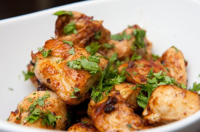 Quick Lime Cilantro Chicken-