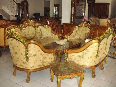 Jepara carving chairs from teak 1