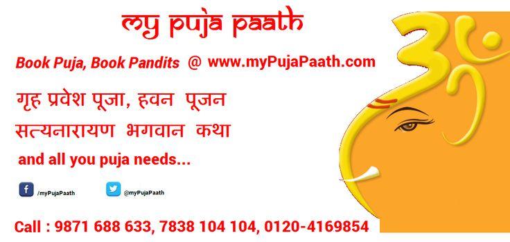 Book Puja, Book Pandits @myPujaPaath.com