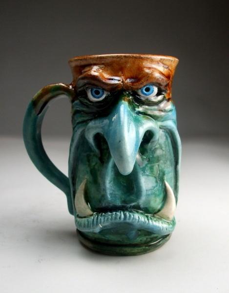 Face Mug 1 -- Fusion Art Glass Online Store
