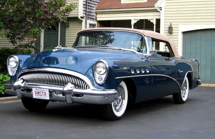 1954 Buick Roadmaster via doyoulikevintage