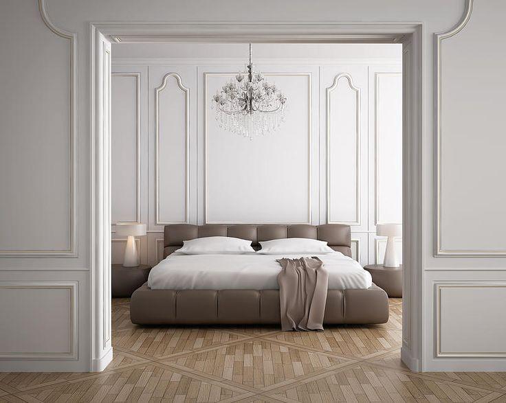 Parisian apartment. Classy wall trimming