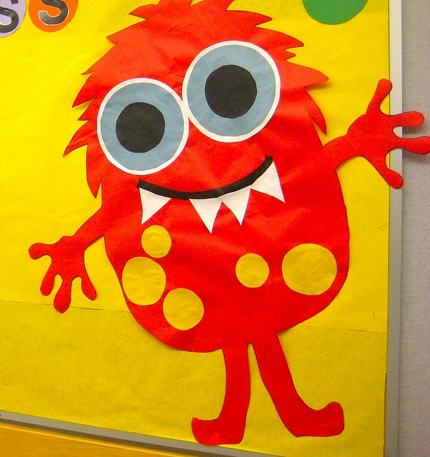 monster classroom decorations