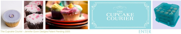 Cupcake Courier with DEEP openings for cupcakes! And can hold cookies, too!
