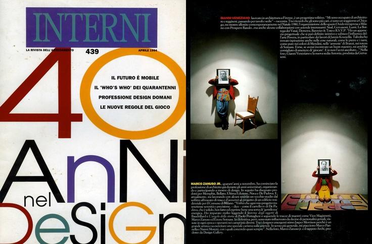 Gianni Veneziano   1994 Interni 439