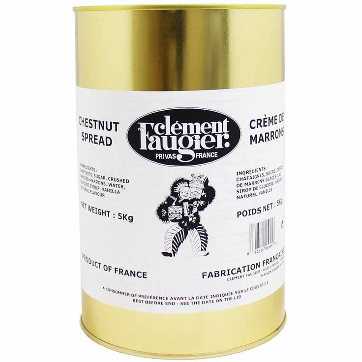 XXL Clement Faugier Chestnut Spread Puree de Marrons 11 lbs. (5kg)