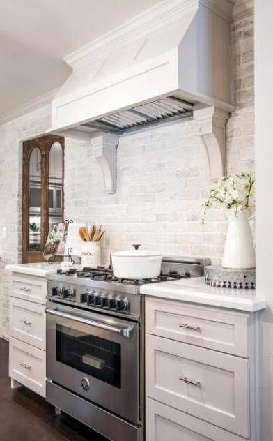 farmhouse kitchen brick backsplash joanna gaines 58 ideas cottage style kitchen french on farmhouse kitchen joanna gaines design id=60423