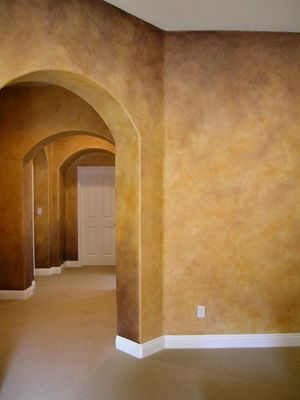 Faux Parchment Wall Paint Images