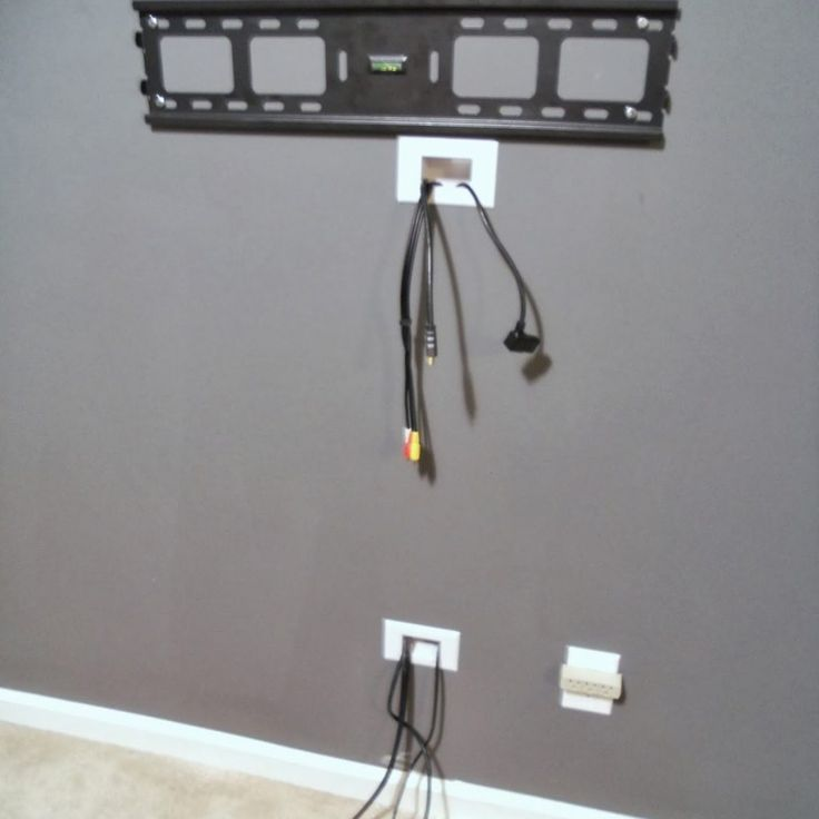 Wall Mount Tv Cable Management