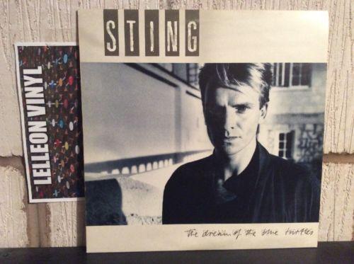 Sting The Dream Of The Blue Turtles LP Album Vinyl Record DREAM1 A&M Pop 80's Music:Records:Albums/ LPs:Pop:1980s