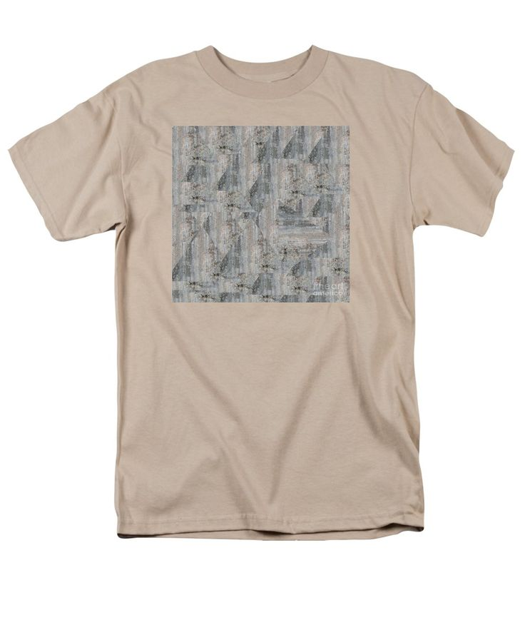 Wall Men's T-Shirt (Regular Fit) featuring the photograph Concrete Wall by Sverre Andreas Fekjan