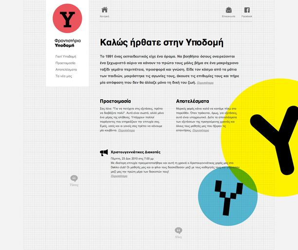 Ypodomi | Radial