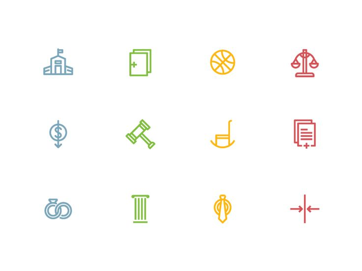 More Law Icons