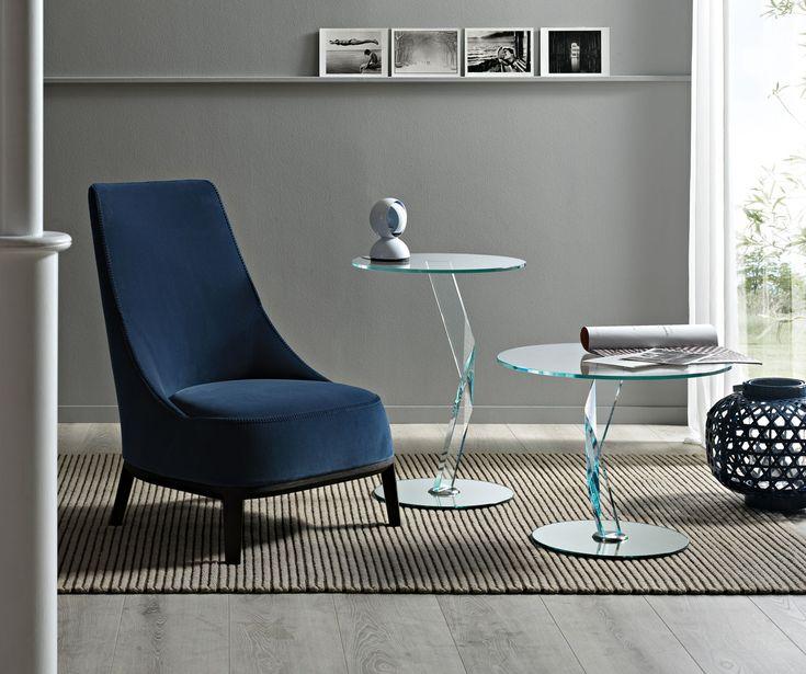 BAKKARAT side table by Tonelli