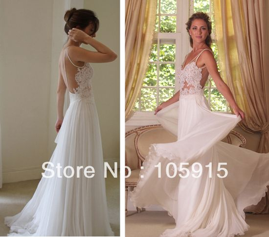 2014 wanda borges prefect design sexy white lace backless for White dresses for wedding guests