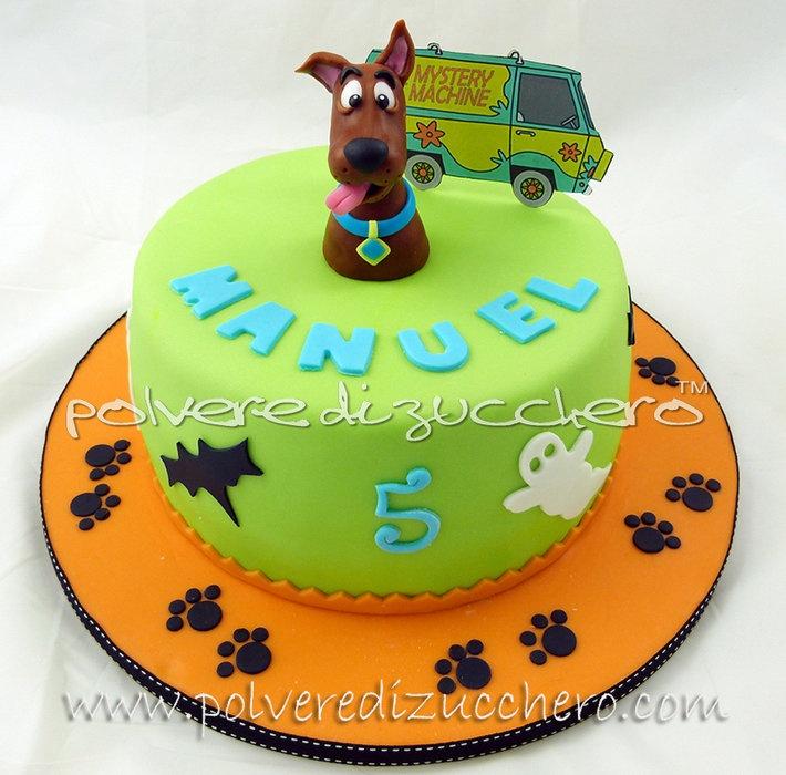 Scooby- Doo cake