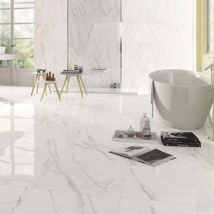Fliseserien Preziosa er inspireret af de mest eksklusive og raffinerede marmortyper. Fås i 5 formater, 4 farver og 2 overflader