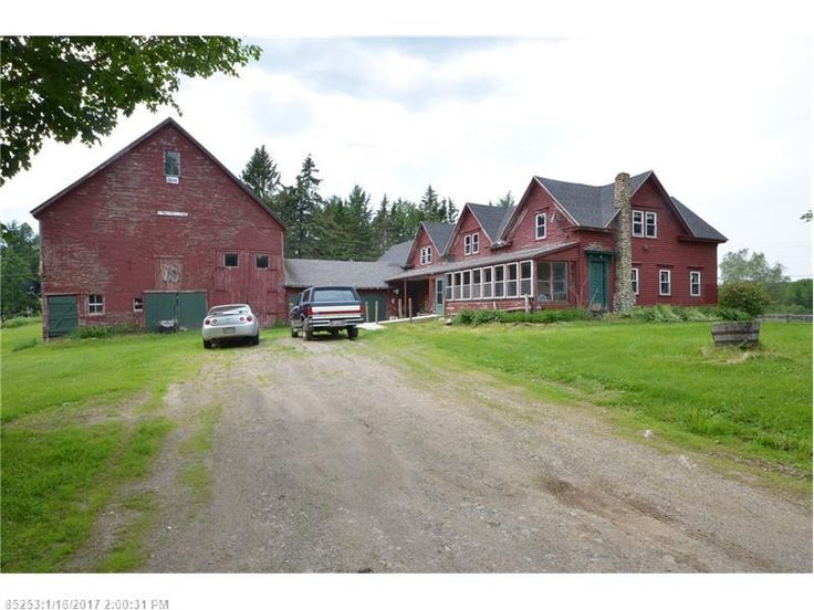 Large New England farmhouse on 30+/- acres with frontage on the Penobscot River. large barn that current owner used for horses but would accommodate most livestock. 1st floor has eat in kitchen, large living room, bathroom and office. Second floor has 4 bedrooms and 1 1/2 baths. Low taxes.
