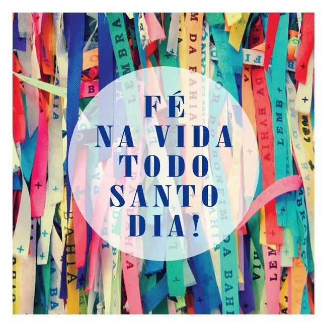Designn Maniaa >> Quadrinho Wood Fé na Vida >> quadro fé na vida; quadrinho; asbueno; frase; frase em quadro; fita do bonfim; brasil; brasilidade