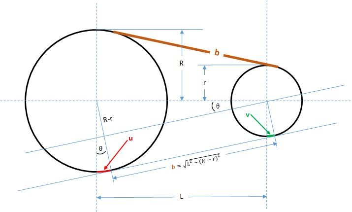 The real math from vCalc.com for an interesting geometry