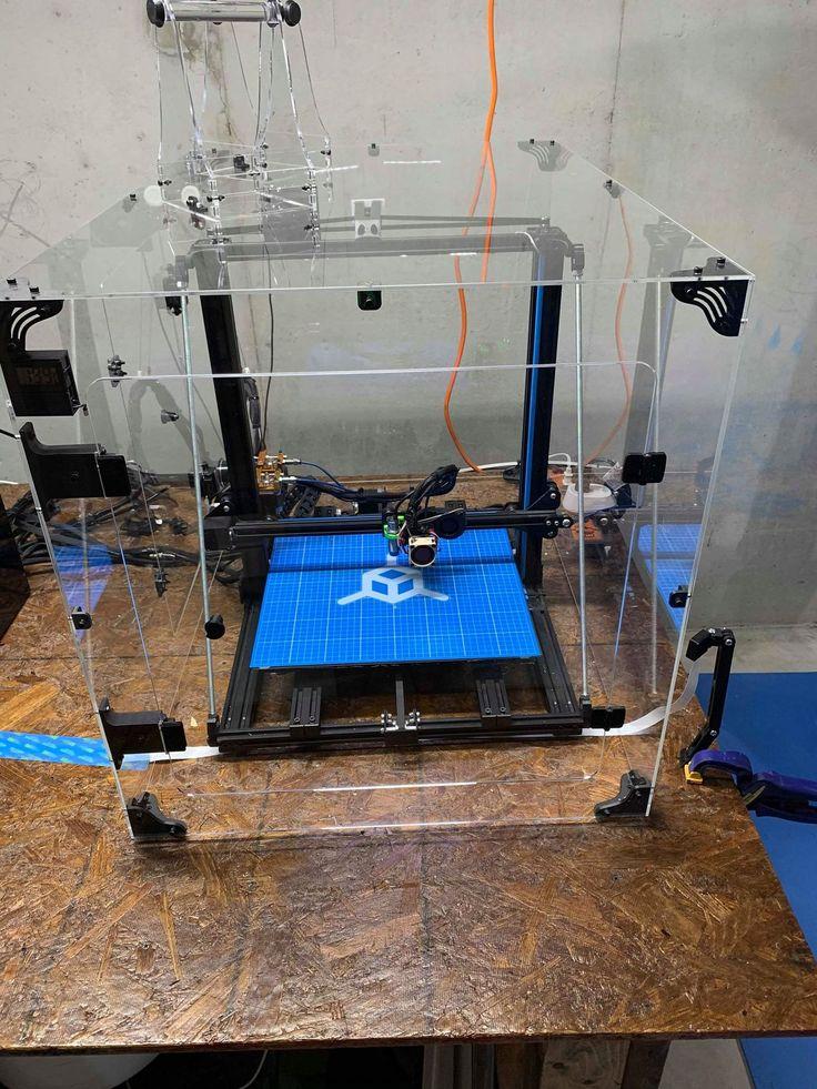 CR10 S4 Acrylic Enclosure Case Kit in 2020 3d printer