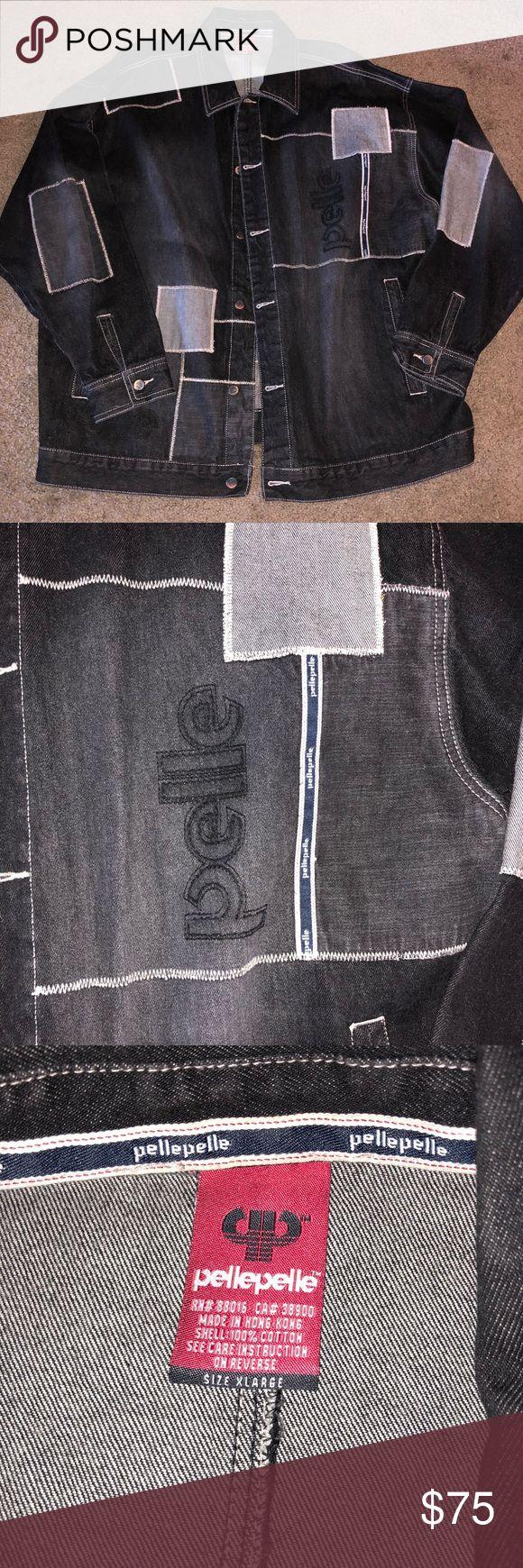 Pelle pelle Men's XL Jean jacket Jean jacket XL jacket in great condition Pelle Pelle Jackets & Coats