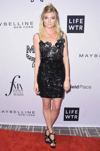 Model Sophie Sumner attends the Daily Front Row's Fashion Media Awards at Four Seasons Hotel New York Downtown on September 8, 2017 in New York City.