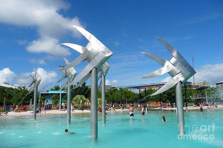 Cairns Lagoon, Cairns, Queensland, AUSTRALIA