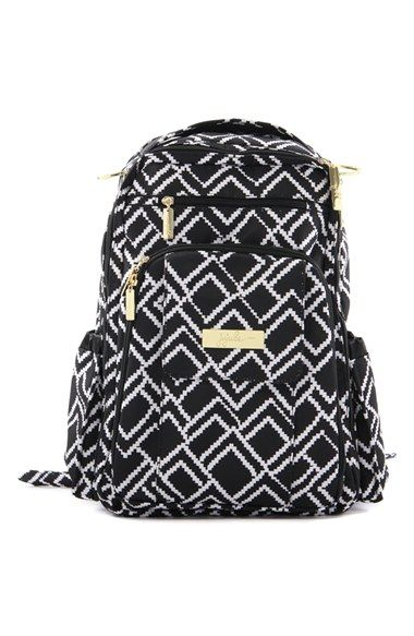 Free shipping and returns on Ju-Ju-Be 'Legacy - Be Right Back' Diaper Backpack at Nordstrom.com. An ergonomic, wipe-clean diaper bag with plenty of pockets and a well-organized interior features adjustable straps and a breathable mesh panel in back for comfort.