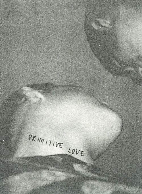 Primitive Love, Peter de Potter, 2010