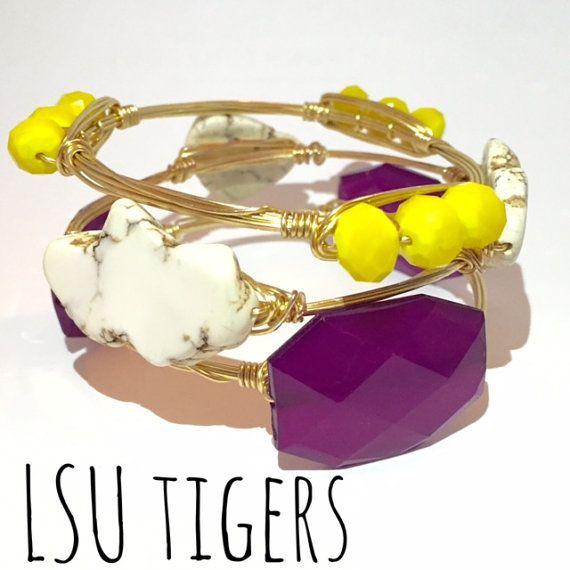 Louisiana State University Tigers Game Day by CourtneyAndCourtnie