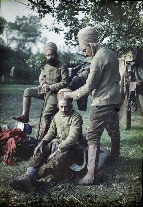 Algerians soldiers during WW1
