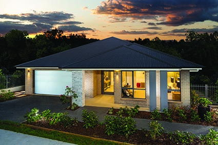 Killara 28 // Single storey home design with four generous sized bedrooms and up to five separate living zones