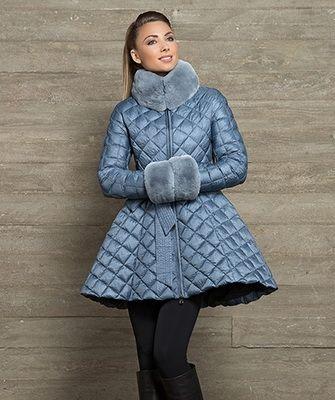 Модные женские пуховики осень-зима 2016-2017 - фото