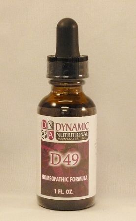 D-49 Homeopathic Natural Remedy for Sinus Inflammation $16.00