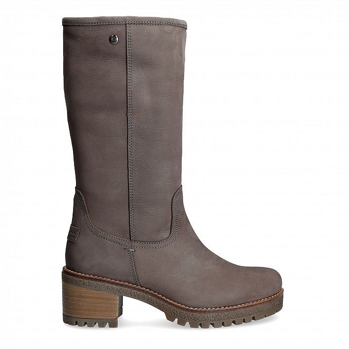 Women S Boots Patricia Grey Panama Jack Official Store Schuhe