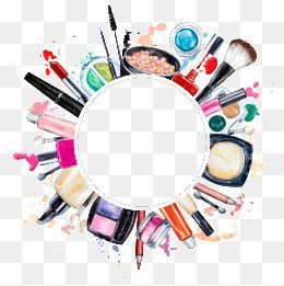 Creative makeup tools PNG and Clipart