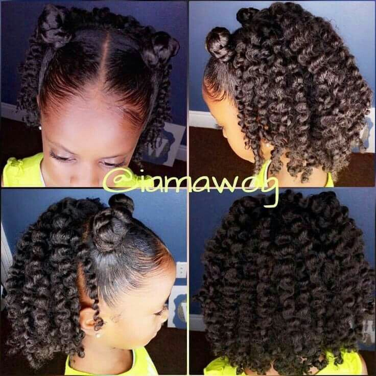 Hairstyles For Black Little Girls 394 Best Kids Hairstyles Images On Pinterest  Natural Hair Natural