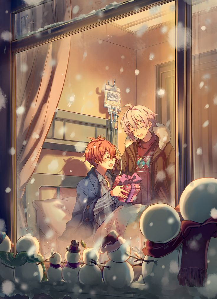 Merry Christmas, Riku & Tenn! --Idolish7--