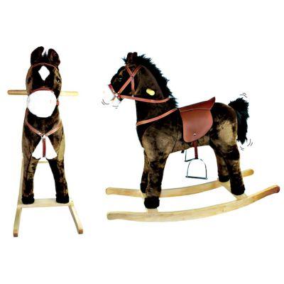 A musical rocking horse